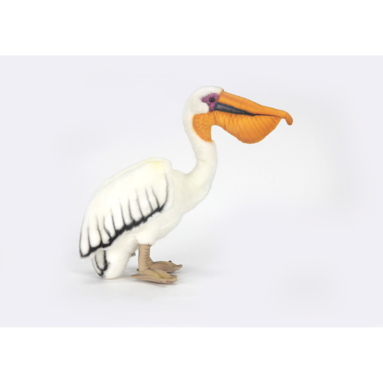 Pluche witte pelikaan 27 cm