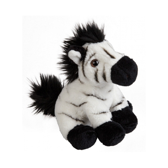Pluche zebras knuffeltjes 15 cm