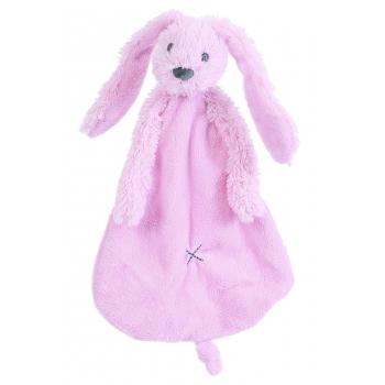 Roze tutteldoekje konijn