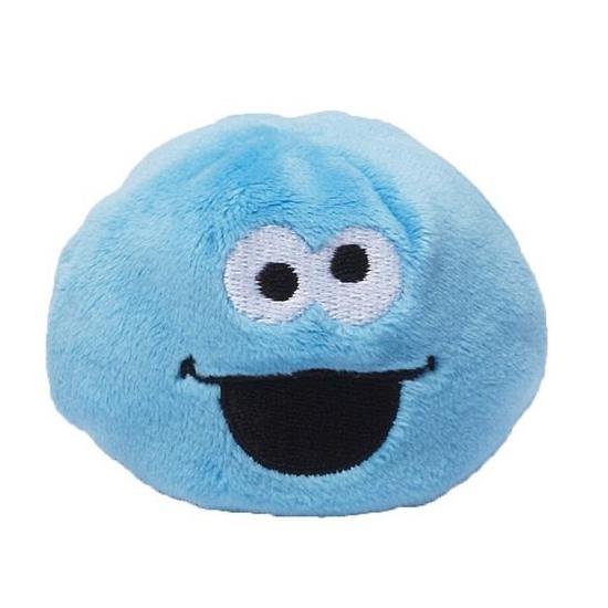 Sesamstraat blauwe Koekiemonster bal