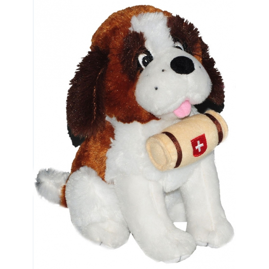 Sint Bernard knuffel hond 25 cm