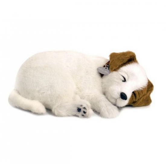 Slapende realistische knuffel Jack Russel