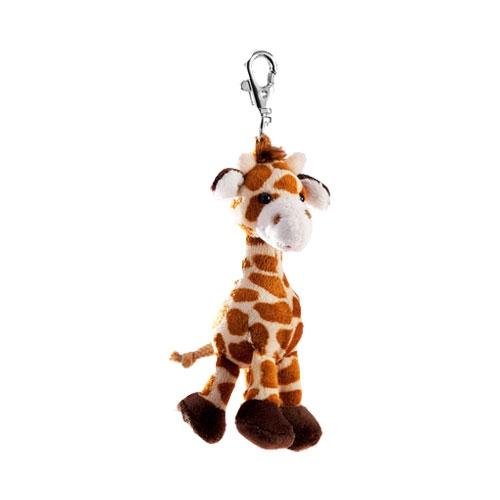 Sleutelhanger giraffe 10 cm