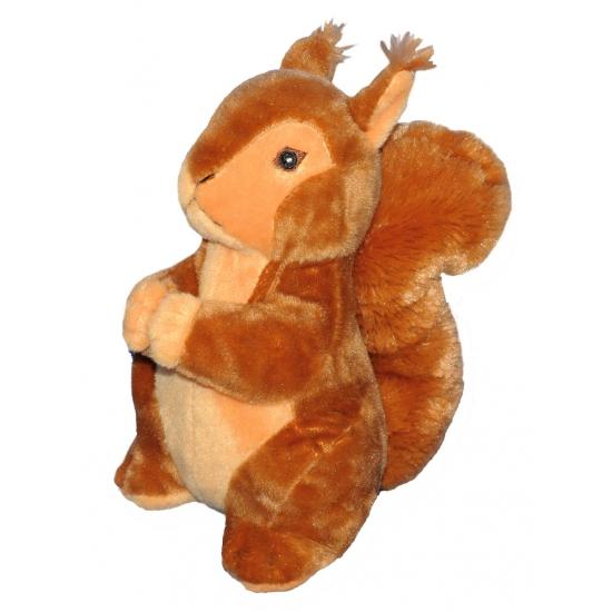 Speelgoed eekhoorn knuffel 25 cm