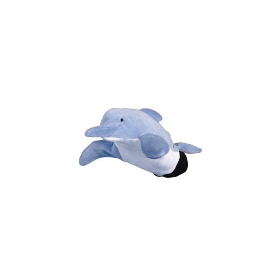 Speelgoed handpop dolfijntje 22 cm