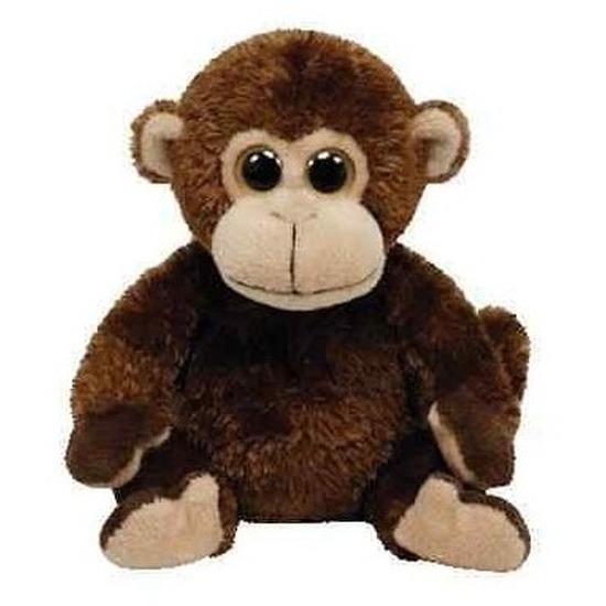 Speelgoed knuffel aap 15 cm