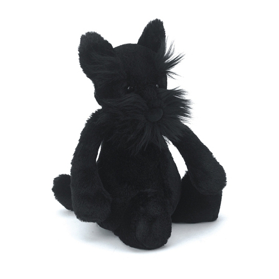 Speelgoed knuffel hond scottie 31 cm
