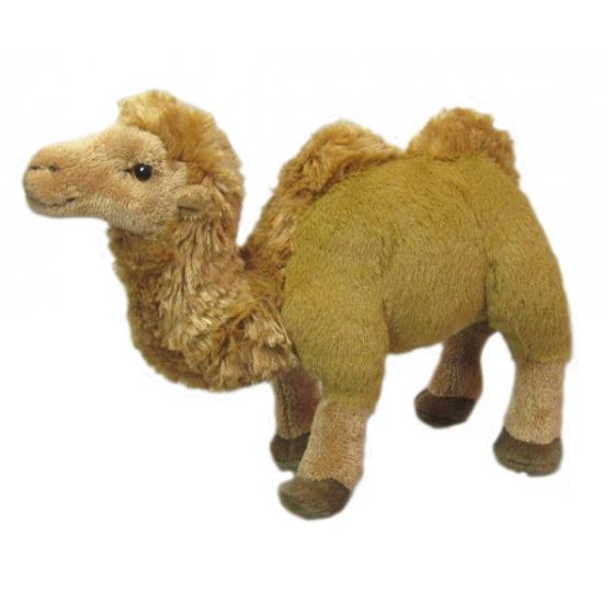 Speelgoed knuffel kameel 23cm