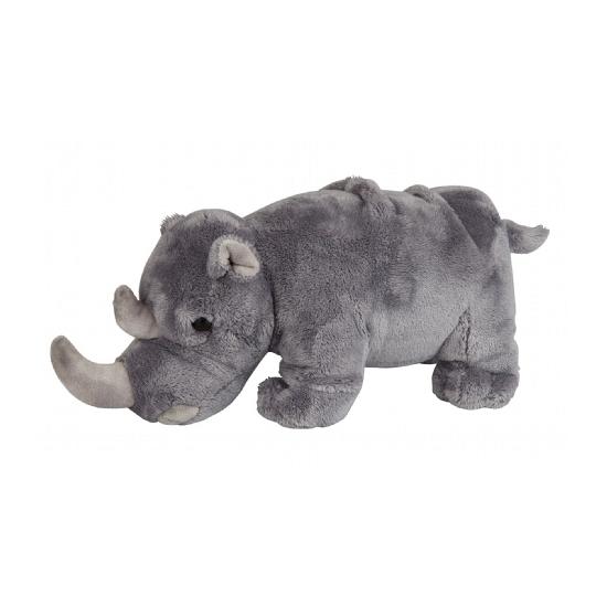 Speelgoed knuffel neushoorn 26 cm