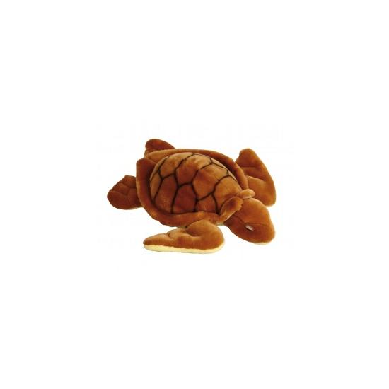 Speelgoed knuffel schildpad 34 cm