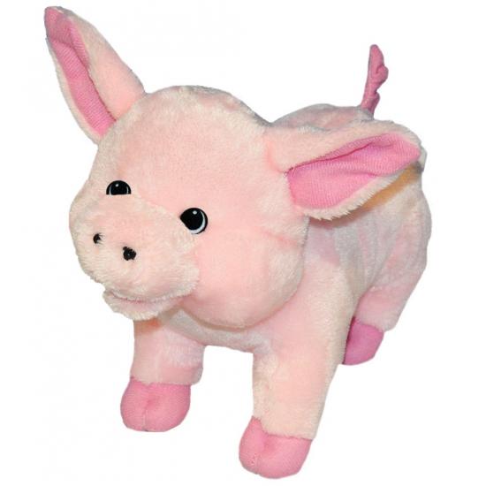 Speelgoed knuffel varken 25 cm