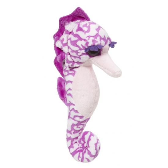 Speelgoed knuffel zeepaard 26 cm