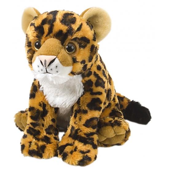 Speelgoed luipaard knuffel welp 30 cm
