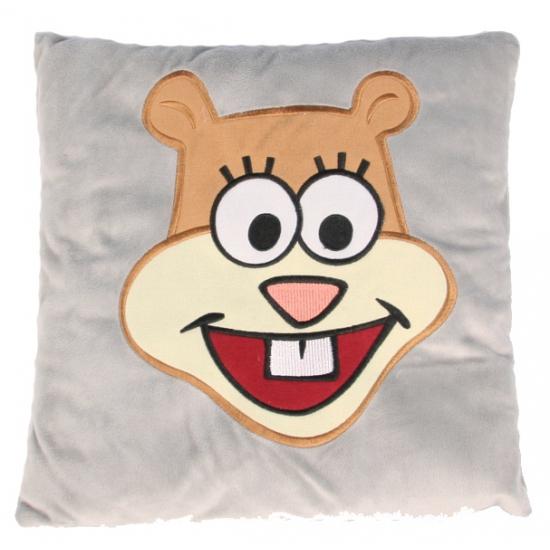 Spongebob Sandy kussen glimlach 35 cm