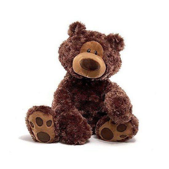 Teddybeer chocolade bruin 46 cm
