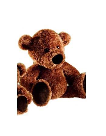 Teddybeer knuffel bruin 28 cm