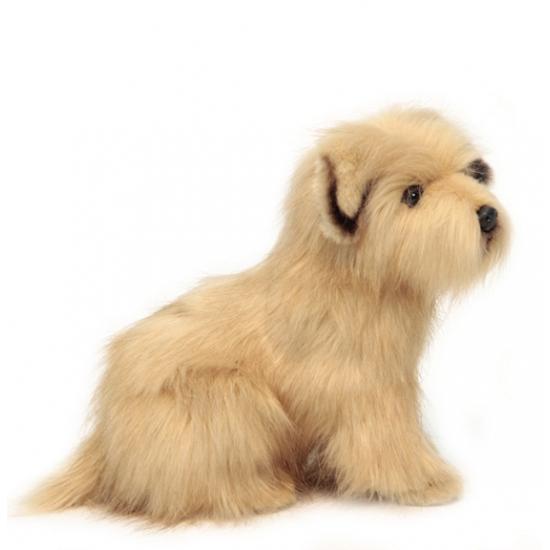 Terrier knuffelbeest 23 cm