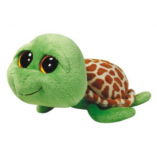 Ty Beanie knuffel schildpad groen 24 cm