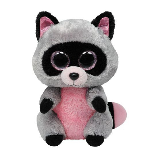 Ty Beanie knuffel wasbeertje 24 cm