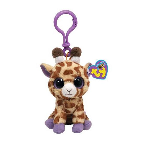 Ty Beanie sleutelhanger giraffe 12 cm