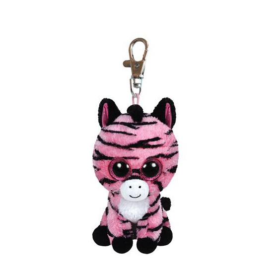 Ty Beanie Zoey sleutelhanger zebra