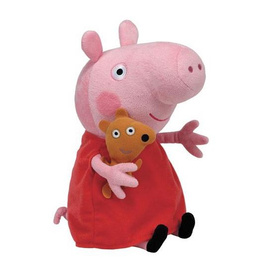 Ty knuffel Peppa Pig 15 cm