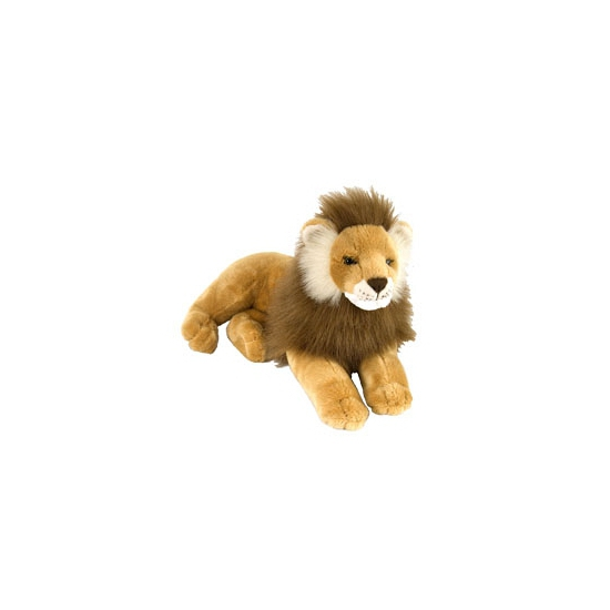 Wild Republic pluche liggende leeuw 40 cm