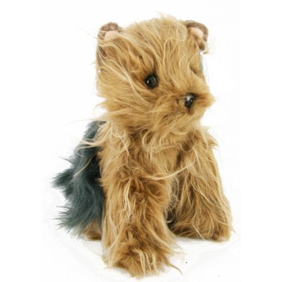 Yorkshire terrier knuffeldier 24 cm