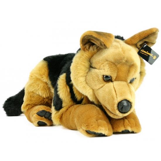 Zachte knuffel hond herder 60 cm