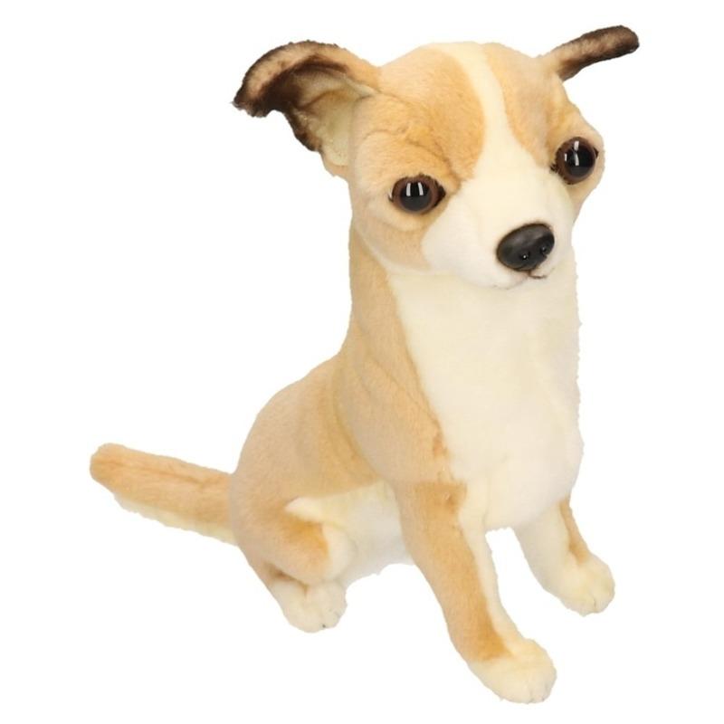 Zittende pluche Chihuahua