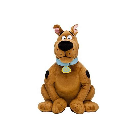 Zittende Scooby Doo knuffel 30 cm