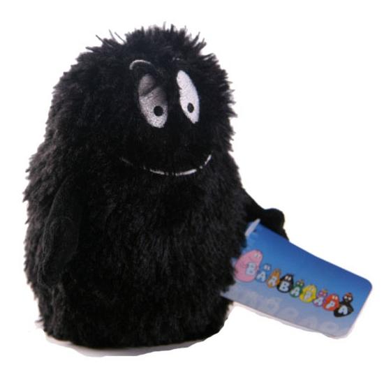 Zwarte bean bag knuffels van Barbapapa 23 cm