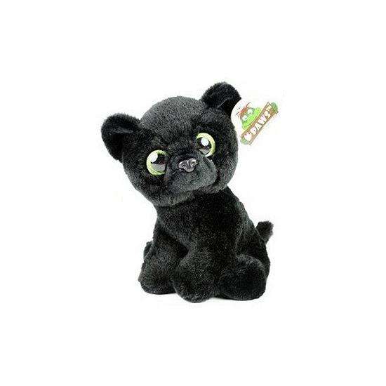 Zwarte panter knuffeltje 22 cm