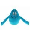 Blauwe barbapapa knuffel 18 cm