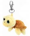 Creme schildpadje aan sleutelhanger