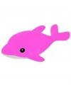 Dolfijn knuffel roze 42 cm