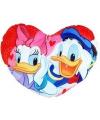 Donald en katrien duck hart kussen 45 cm