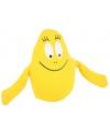 Gele barbapapa knuffel 18 cm