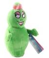 Groene pluche bean bag barbalala 12 cm