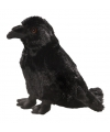 Halloween pluche zwarte raaf knuffel 20 cm