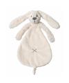 Happy horse knuffeldoekje konijn richie wit 25 cm