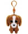 Hond puppy ty beanie tala sleutelhanger 12 cm