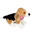 Honden knuffel beagle 25 cm
