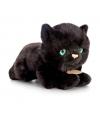 Keel toys pluche katten poezen knuffel zwart 30 cm