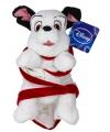 Knuffel dalmatier in dekentje 25 cm