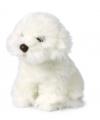 Knuffel hond maltezer leeuwtje 18 cm