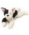 Knuffel hond pitbull liggend 27 cm