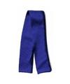 Knuffel kleding blauwe sjaal maat kk02