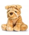 Knuffel sharpei hond 35 cm
