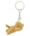 Labrador hond sleutelhanger 6 cm